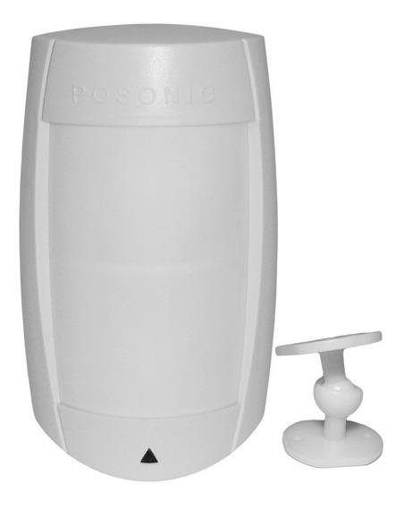 Sensor Alarme Infra Semi Externo Duplo Pir Ps 75 +suporte