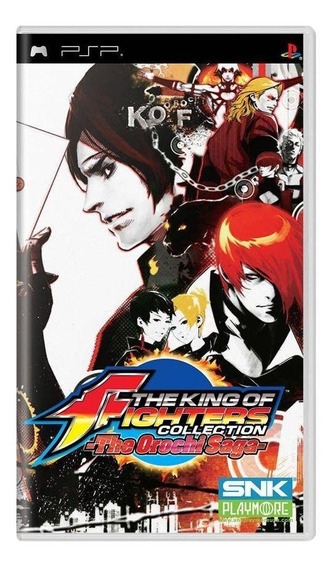 King Of Fighters Collection The Orochi Saga Psp Mídia Física