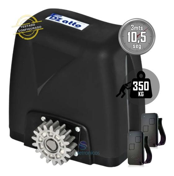 Kit Motor Rossi 1/5 Hp Dz Atto Turbo Portão Deslizante 350kg
