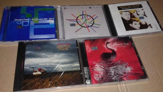 Kit Depeche Mode 5 Cd Nuevos|sellados Envio Gratis!