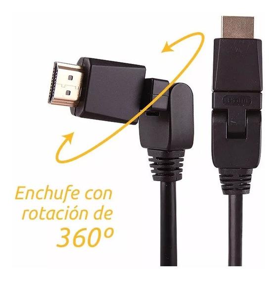 Cable Hdmi Onebox Ob-360 Full Hd 3d 4k 3 Mts