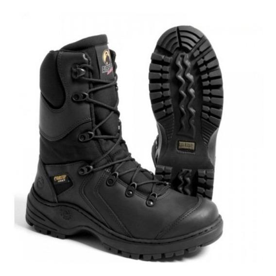 Coturno Militar Tático Black Squad 8990-1 + Brinde