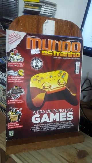 Revista Mundo Estranho 118 - A Era De Ouro Dos Games