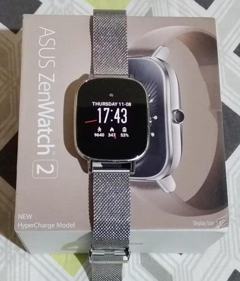 Relógio Asus Zenwatch 2 - Bluetooth, Touchscreen (semi-novo)