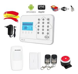 Alarma Wifi Gsm Pstn Notificacion App Casa Negocio