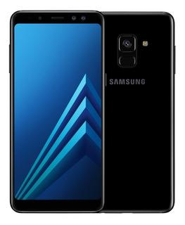 Samsung A8 64gb Com Capinhas, Película, Caixa E Fone
