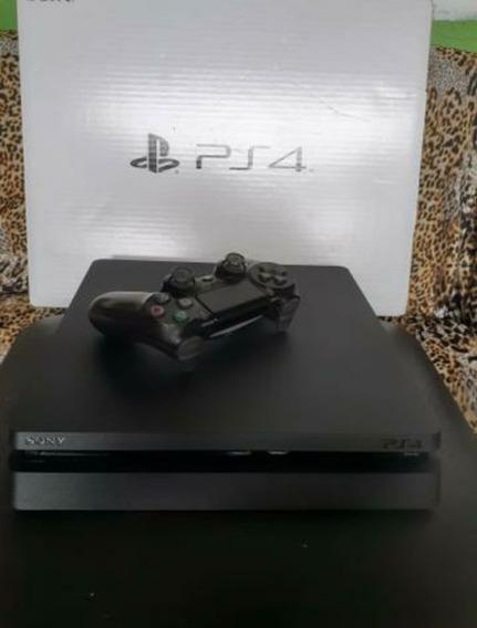 Console Playstation 4 Ps4 Slim 500gb + Joystick