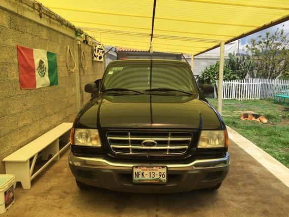 Ford Ranger 2002 Negra Muy Cuidada Todo Pagado