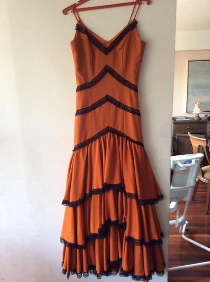 Vestido De Flamenco Para Dama Cod-7-00070