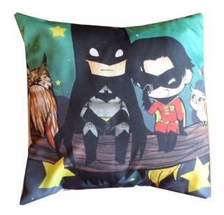 Almohadón De Comics Batman Y Robin