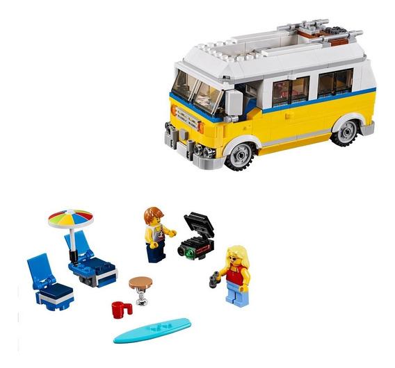Lego Creator - Modelo 3 Em 1: Férias De Verão