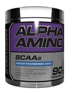 Alpha Amino Bcaa 252g Vários Sabores Cellucor