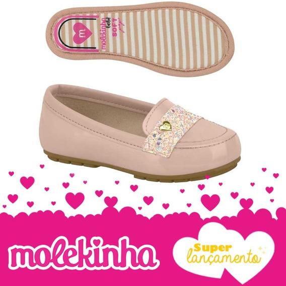 2129.100 Sapatilha Molekinha Gliter - Rosa