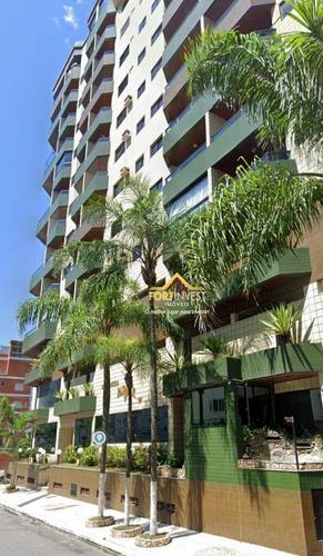 Apartamento Com 3 Dormitórios À Venda, 119 M² Por R$ 650.000,00 - Tupi - Praia Grande/sp - Ap2048