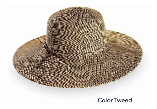 Imagen 1 de 2 de Sombrero Riviera Protección Solar Upf50+ Bloquea Rayos Uv