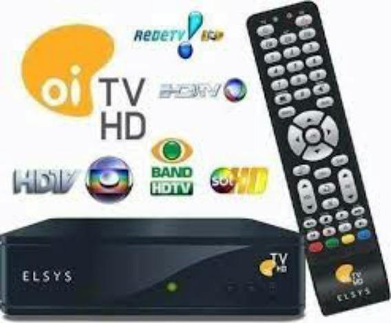 Habilitação Elsys E Bendisat Oi Tv Livre. Ativação Na Hora