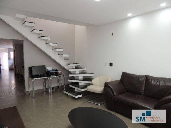 Sobrado Residencial À Venda, Osvaldo Cruz, São Caetano Do Sul. - So0170