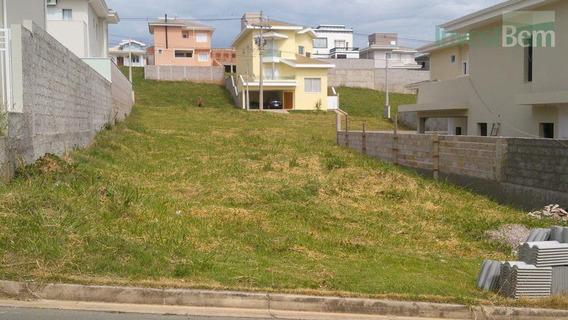 Terreno Residencial À Venda, Condomínio Moinho Do Vento, Valinhos. - Te0077
