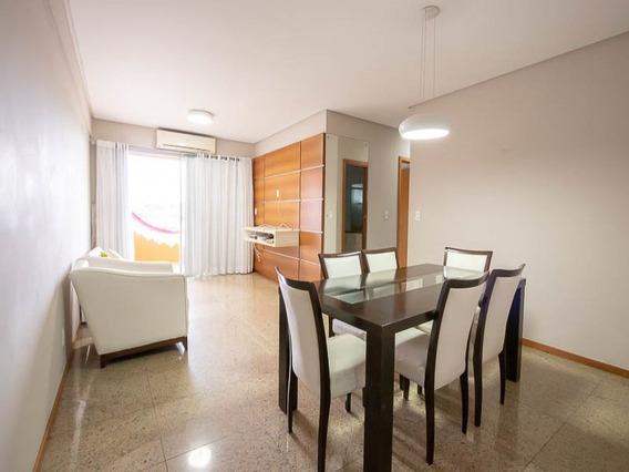 Apartamento Para Locação No Parque Dez Semi Mobilhado (98m²) Miami Park, 3 Quartos, Garagem, Piscina E Churrasqueira - Miami Park - 34005651