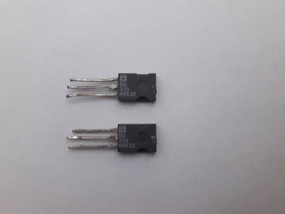Par Bd335 Transistor Darlington Npn De Potência