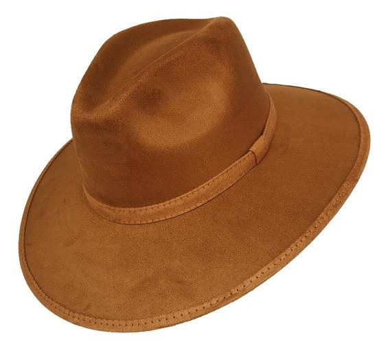 Lote 12 Sombreros De Gamuza Tipo Explorer Unisex De Calidad