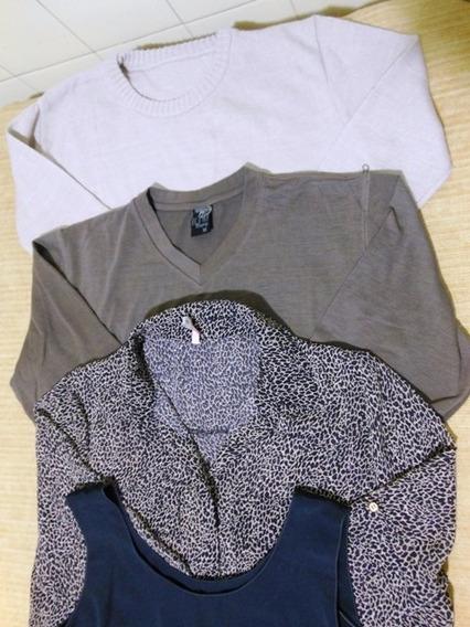 Lote Dama Sweater Camiseta Camisa Musculosa Remera Talle M
