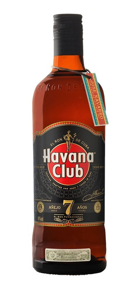Havana Club Añejo 7 Años Ron Oscuro Botella De 750 Ml