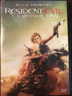 Dvd Resident Evil 6 Capitulo Final / The Final Chapter