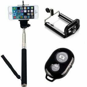 Pau De Selfie 3 Em 1 (controle Bluetooth+monopé Universal+su
