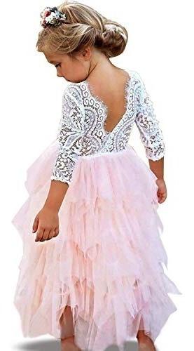 Vestidos De Niña Para Fiesta Esponjados Ropa Bolsas Y
