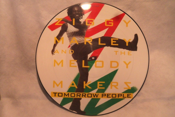 Ziggy Marley Tomorow People Vinilo Maxi Picture Disc