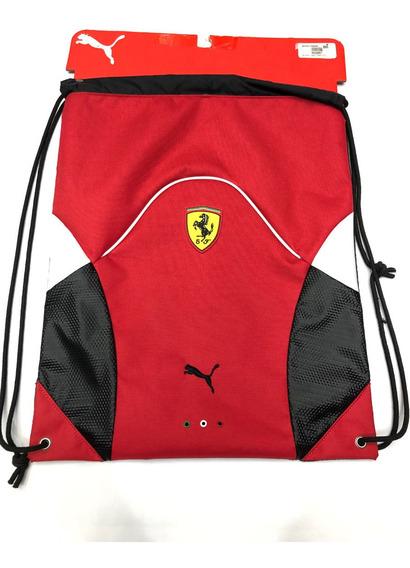 Morral Puma Ferrari Deportivo Rojo 100% Original Y Nuevo