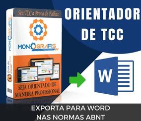 Orientador Tcc, Artigo, Tese - Link De Compra Na Descrição