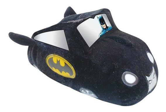 Pantuflas De Niño Batman Batimovil Con Luz Mas511