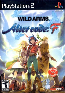Wild Arms Alter Code F - Playstation 2 Up Shop