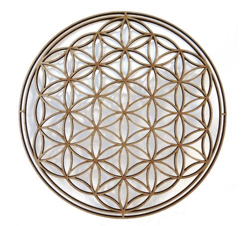 Geometria Sagrada Arteterapia Flor De La Vida 60cm