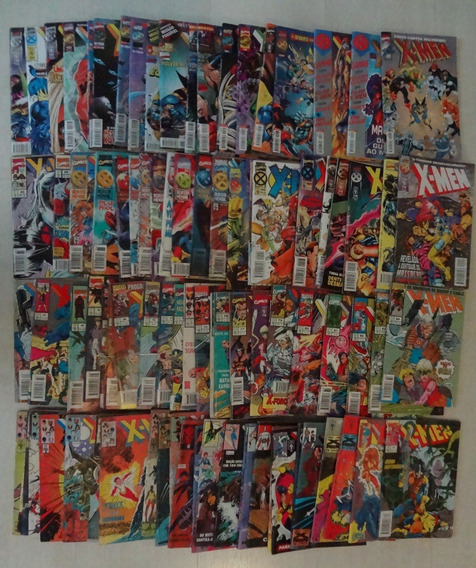 X-men Abril 1988 1ª Série 90 Hq Gibis Formatinho