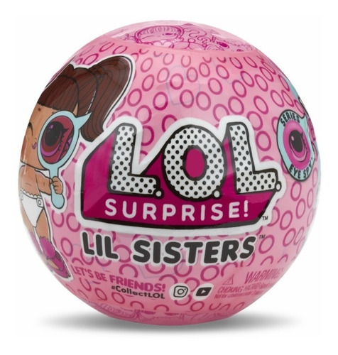 Muñeca Lol Lil Sisters Sorpresa Serie Eye Spy Original L.o.l