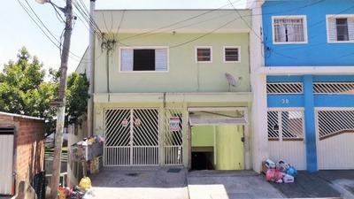 Casa No Helena Maria, Osasco, 2 Quartos Com Garagem - 892