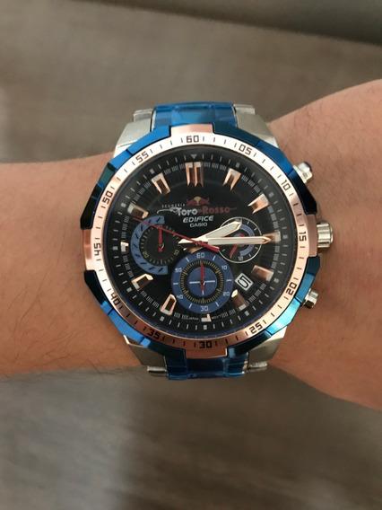 Relógio Casio Edifice Toro Rosso - Novo - Frete Grátis