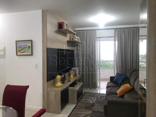 Apartamento A Venda Com 3 Quartos No Bairro Pantanal Em Florianopolis. - V-81632