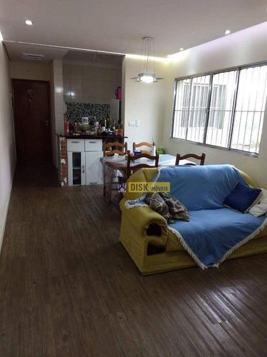 Imagem 1 de 8 de Apartamento Com 2 Dormitórios À Venda, 88 M² Por R$ 300.000,00 - Parque Terra Nova Ii - São Bernardo Do Campo/sp - Ap1990