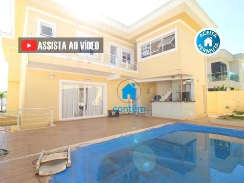 Casa Com 4 Dormitórios À Venda, 430 M² Por R$ 2.300.000,00 - Alphaville - Santana De Parnaíba/sp - Ca0380