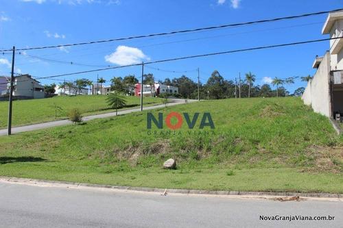 Imagem 1 de 16 de Terreno À Venda, 1064 M² Por R$ 585.000,00 - Reserva Santa Maria - Jandira/sp - Te0974