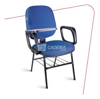 Cadeira Universitária Diretor Escamoteável Idag221cb 4 Pés