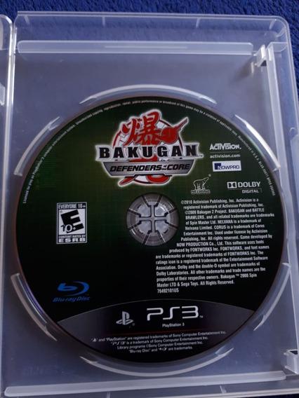 Bakugan Defenders Of The Core Sem Encarte Ps3 Campinas