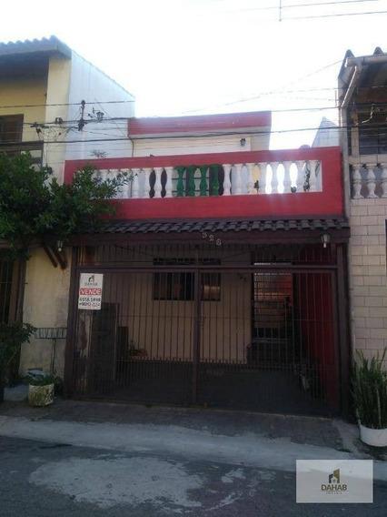 Sobrado Residencial À Venda, Jardim Maria Rosa, Taboão Da Serra. - So0106