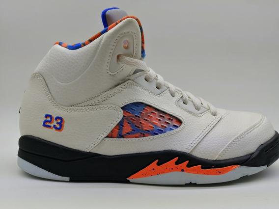 Tenis Air Jordan 5 Retro Ps #22cm Nuevos Y Originales