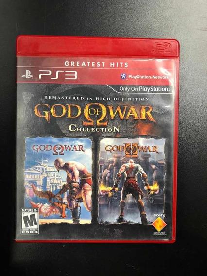 God Of War Collection Ps3 - Mídia Física Seminovo