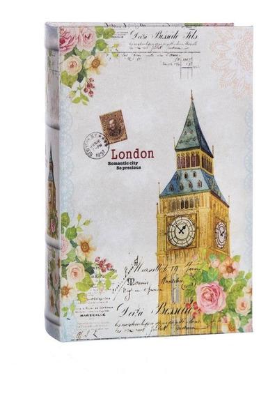 Caja Seguidad Forma De Libro Con 2 Llaves Torre De London